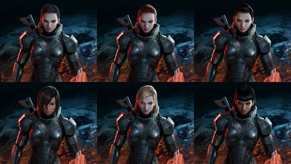 Mass Effect 3 FemSheps